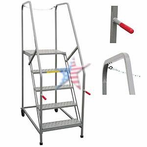 Maintenance Work Platform Rolling Ladder, We Build Platforms Too! Prices on Line, 888.661.0845
