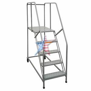 Tilt N Roll Ladder Rolling Ladder, We Build Platforms Too! Prices on Line, 888.661.0845