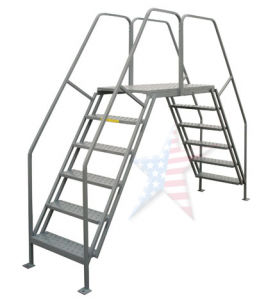 crossover platform 275x300 Rolling Ladder, We Build Platforms Too! Prices on Line, 888.661.0845