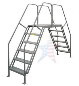 crossover platform 275x300 Rolling Ladder, We Build Platforms Too! Prices on Line, 888.661.0845