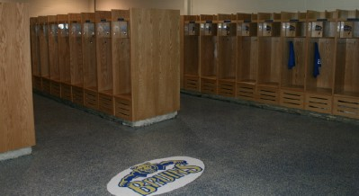 Brentwood High School Crafted Wood Lockers