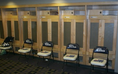 UConn Basketball Crafted Wood Lockers