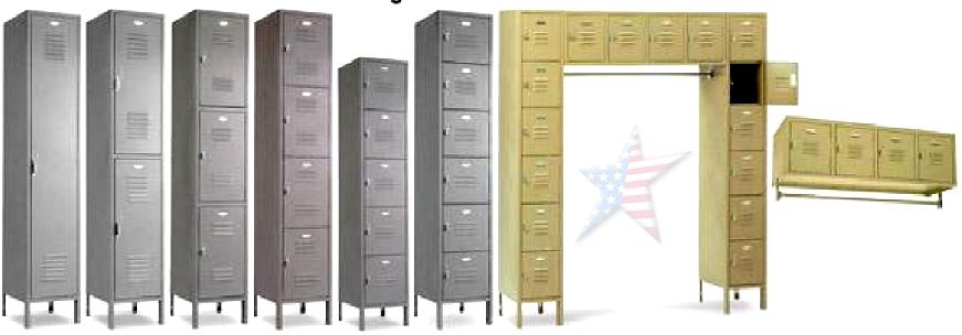 Penco School Lockers, Soccer Lockers Employee Lockers Lockers ...