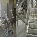 Aluminum Rolling Ladders Can Be Made to Any Size