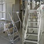 Custom Portable Aluminum Platform