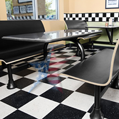 Lunch Room Tables Cafeteria Seating Stylish Sanitary 8886610845