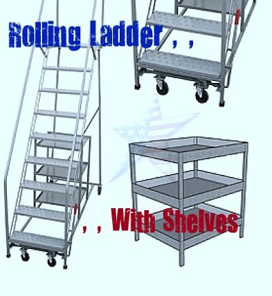 rolling-Ladder-shelves-HomelandMFG