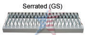 tread-serrated
