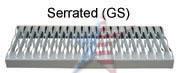 tread-serrated
