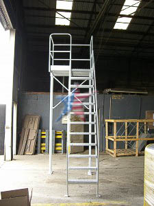Work Tower 10 Foot High We Also Build to Customer Prints or Concepts! Custom Platform Ladders!