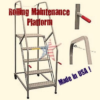 Maintenance Work Platform1-HomeLandMFG